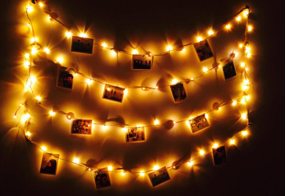 LED Lichterkette Batterie Timer